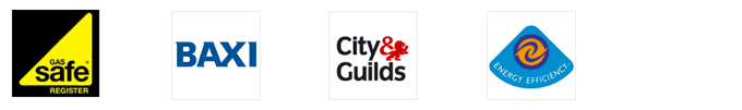 Accredited by Gas Safe, City and Guilds